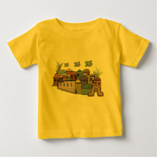 Peace over Jerusalem Baby T-Shirt