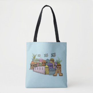 Peace over Jerusalem Tote Bag