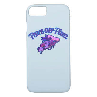 Peace Over Pizza iPhone 7 Case