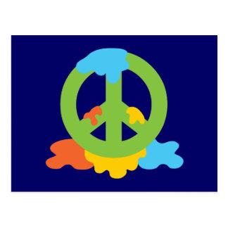 Peace Paint Postcard