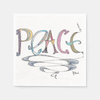 Peace Paper Napkins