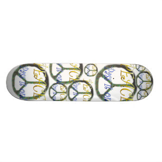 Peace - Pass it on Collage skateboard