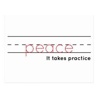 peace | Practice Postcard