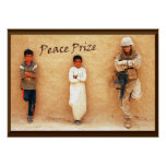 """""""Peace Prize"""" Poster"""