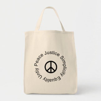Peace Quaker Bag