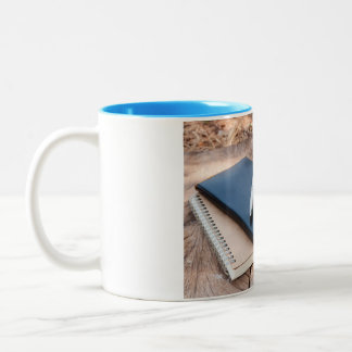 Peace & Quiet Journal Writing Mug