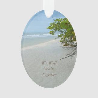 Peace & Quiet on Sanibel Island Oval Ornament