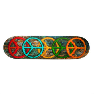 Peace Reigns Supreme Custom Skateboard