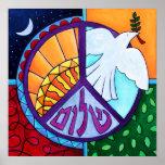 Peace Rising Print