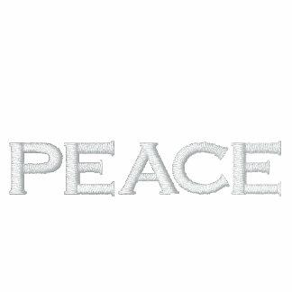 PEACE Ron Paul Fleece Zip Ladies Hoodie -Navy Blue