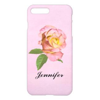 Peace Rose, Customizable Name iPhone 7 Plus Case