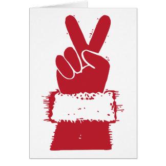 Peace Santa Cards