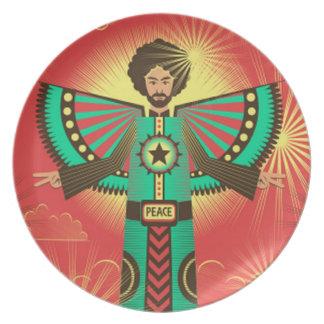 Peace Shine plate