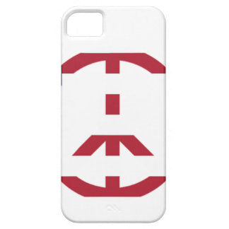Peace Sign America Red White Blue Stars Usa iPhone 5 Cover