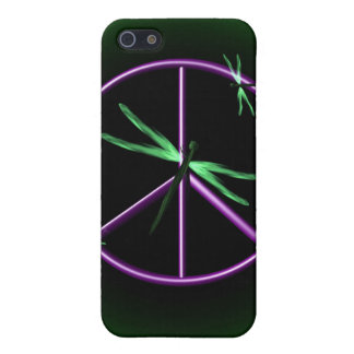 Peace Sign and Dragonfly iPhone 5 Case
