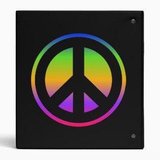 Peace Sign Avery Binder