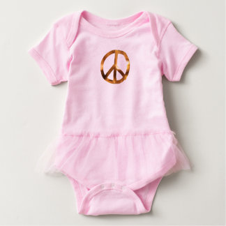 Peace Sign Baby Cloths Baby Bodysuit