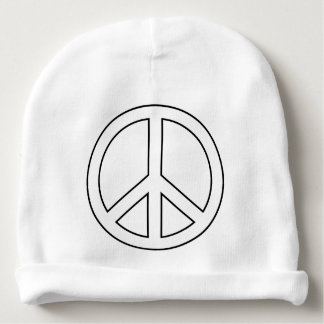 Peace sign boho hippie bestselling baby beanie
