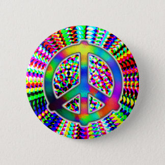 peace sign button