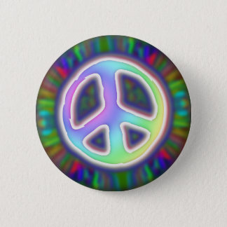 peace-sign-button 2 inch round button