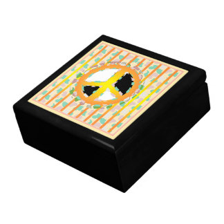 PEACE SIGN CARTOON CUTE GIFT BOX LARGE