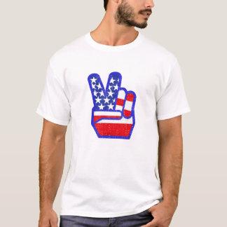 PEACE SIGN DISTRESS T-Shirt