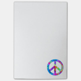 Peace Sign Fractal Post-it® Notes
