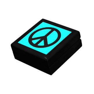 Peace Sign Gift Box