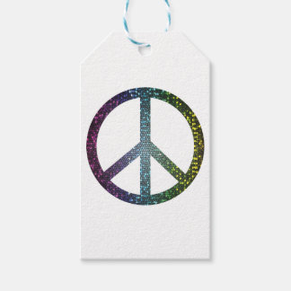 peace sign gift tags