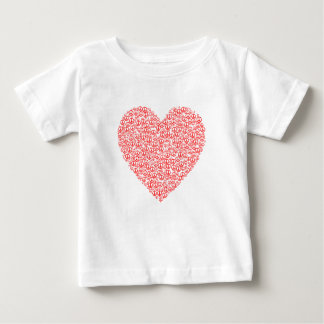 Peace Sign Heart Baby T-Shirt