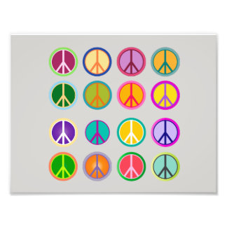 Peace Sign Hippie Popart, 70th, 1970