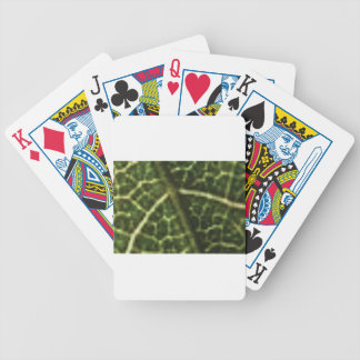 peace sign in nature bicycle playing cards