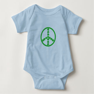 Peace sign Irish baby Baby Bodysuit