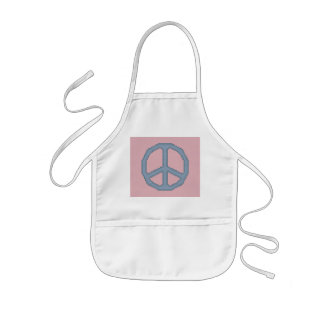 Peace Sign Kid's Apron