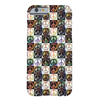 Peace Sign Mosaic Barely There iPhone 6 Case