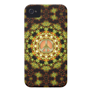 Peace Sign Nature Energy iPhone 4 Case