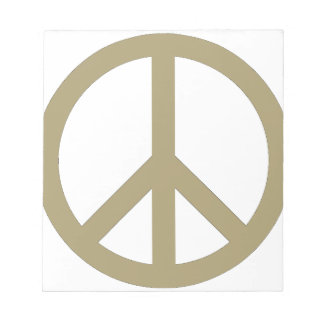 Peace Sign Notepads