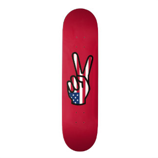 Peace Sign Custom Skate Board