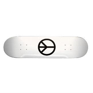 Peace Sign Custom Skateboard