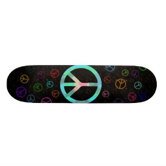 Peace Sign Skateboard