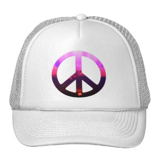 Peace Sign Sunrise Trucker Hat