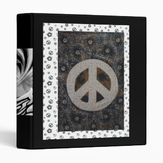 Peace Sign Tapastery Binder
