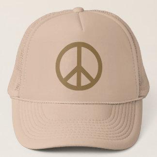 Peace Sign Trucker Hat