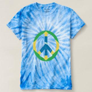 peace sign tye dye tss t-shirt