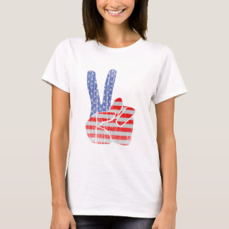 Peace Sign (Vintage style) T-Shirt