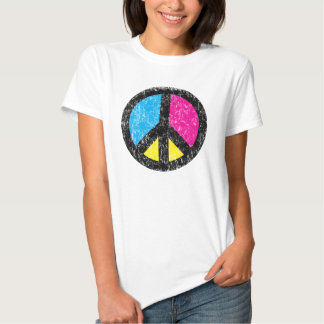Peace Sign Vintage Tee Shirts