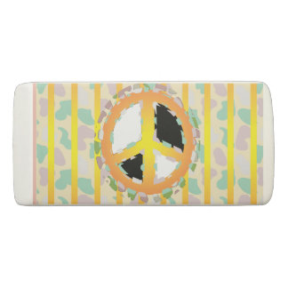 PEACE SIGN Wedge Eraser