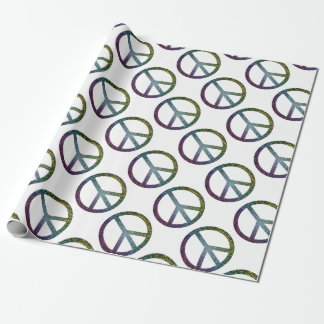 peace sign wrapping paper