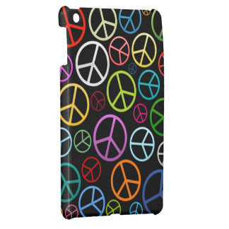 Peace Signs iPad Mini Cases
