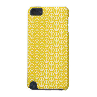 Peace Signs on Sunny Yellow iPod Touch (5th Generation) Case